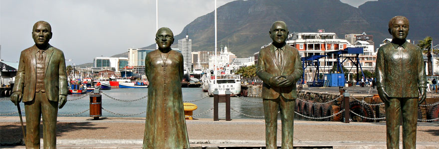 Statues in Capetown