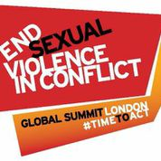 Global Summit To End Sexual Violence In Conflict logo